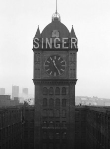 Singer Factory Clock Tower
