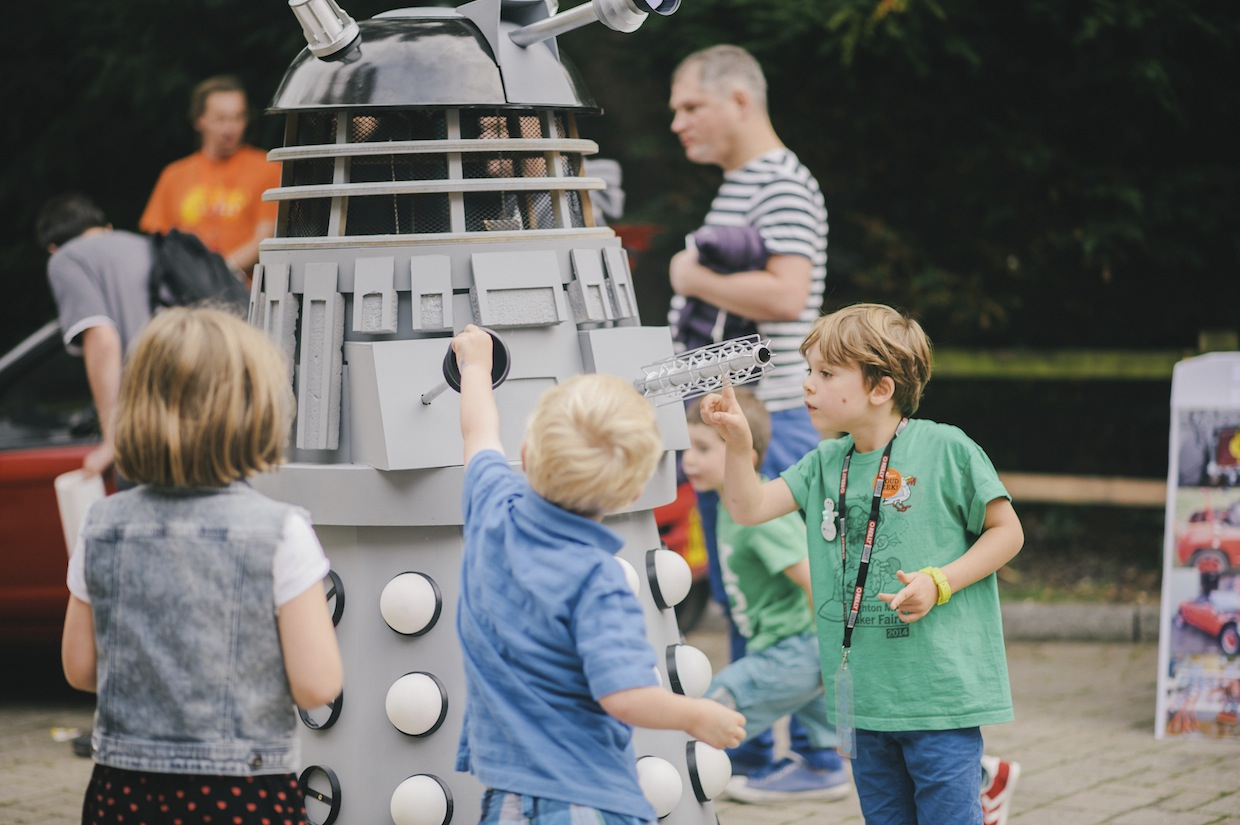 Photograph by Roberta Matis, taken at Brighton Mini Maker Faire 2014